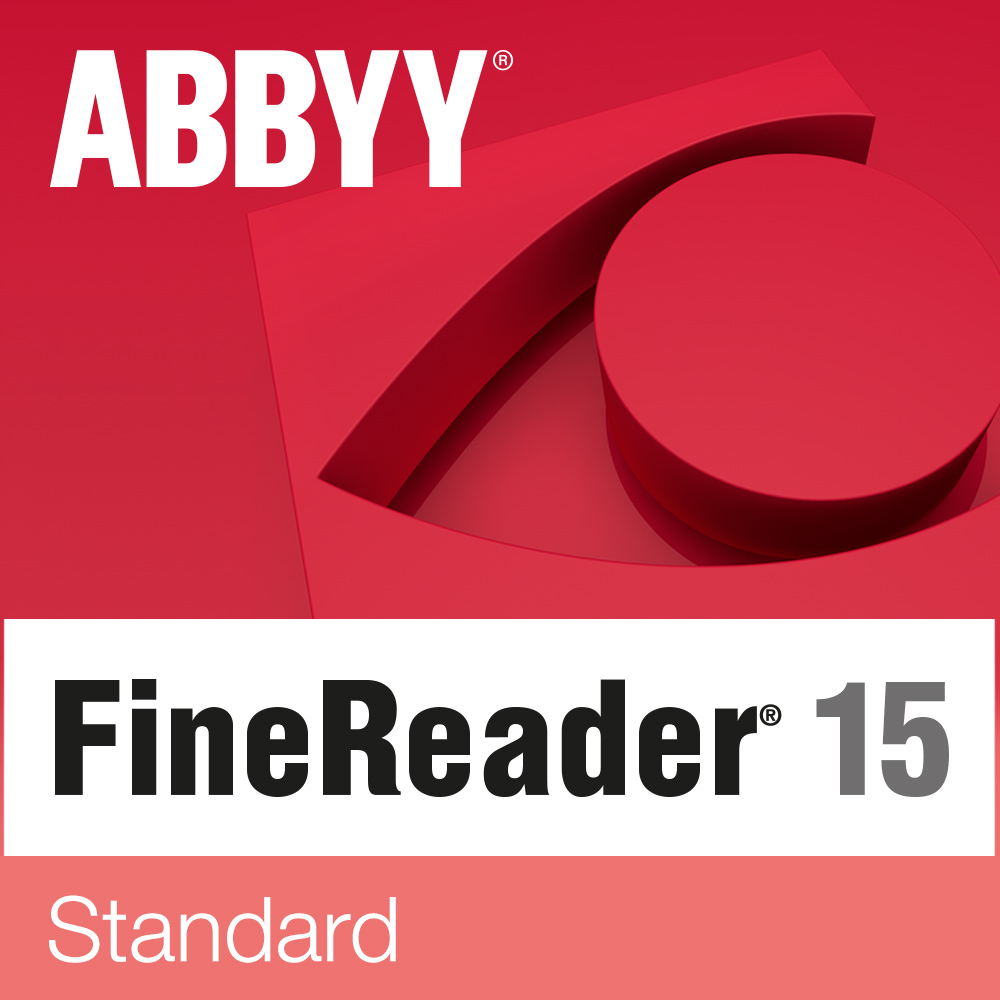 ABBYY FineReader 15 Standard Education